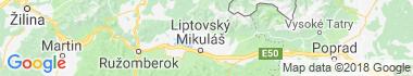 Smrečany Mapa