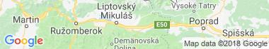 Vavrišovo Mapa