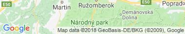 Sacral monuments and pilgrimage sites Liptovska Osada Map