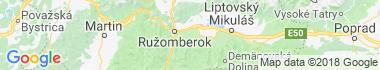 Liptovské Sliače Mapa