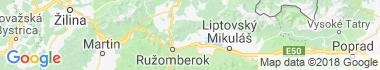Kúpele Lúčky Mapa