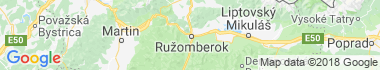 Ružomberok Mapa