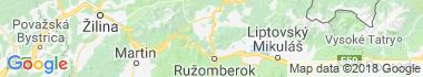 Valaská Dubová Mapa