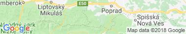 Liptovská Teplička Mapa