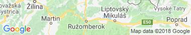 Liptovská Teplá Mapa
