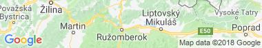 Turík Mapa