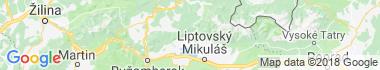 Kvačany Mapa