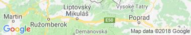 Liptovská Kokava Mapa