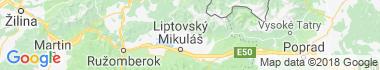 Žiar Mapa