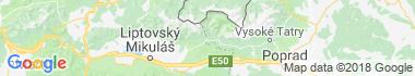 Podbanské Mapa