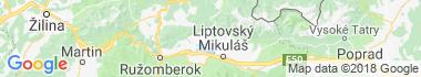 Beňušovce Mapa