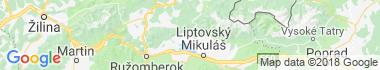 Liptovské Matiašovce Mapa