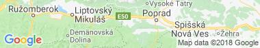 Šuňava Mapa