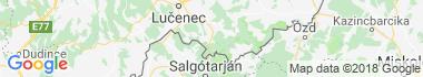 Radzovce Mapa