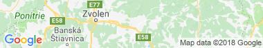Detva Mapa