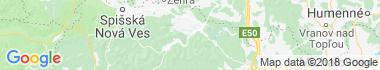 Gelnica Mapa