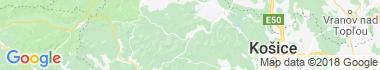 Mníšek nad Hnilcom Mapa