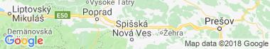 Levoča Mapa