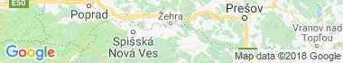 Spišské Vlachy Mapa