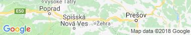 Bijacovce Mapa