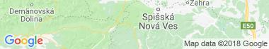 Dedinky Mapa