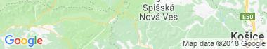 Dobšiná Mapa