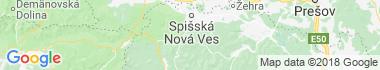 Hnilčík Mapa
