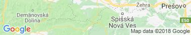 Vernár Mapa