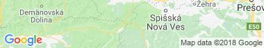 Dobšinská ľadová jaskyňa Mapa