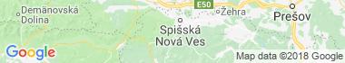 Novoveská Huta Mapa