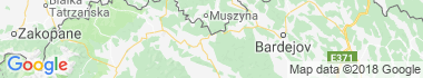 Čirč Mapa
