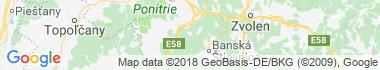 Vyhne Mapa