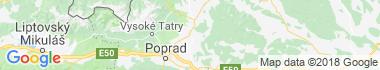 Kežmarok Mapa