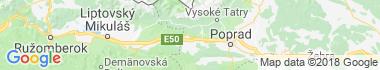 Tatranská Štrba Mapa