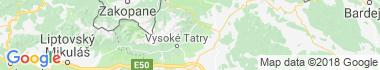Tatranské Matliare Mapa