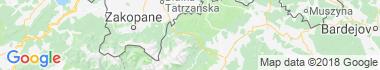 Ždiar Mapa