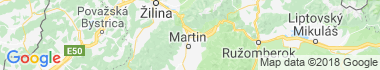 Martin - Priekopa Mapa