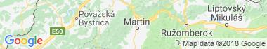 Martin - Stráne Mapa