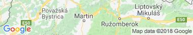 Podhradie (Martin) Mapa