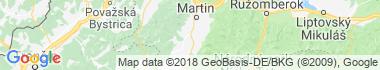 Príbovce Mapa