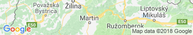 Sučany Mapa