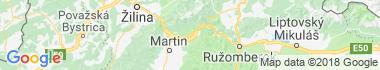 Turany Mapa