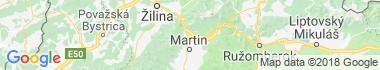 Vrútky Mapa