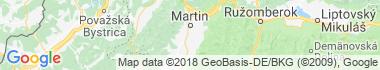 Žabokreky Mapa