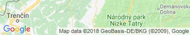 Mošovce Mapa