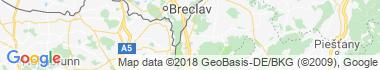 Kúty Mapa