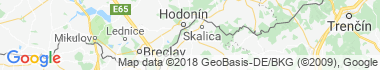Holíč Mapa