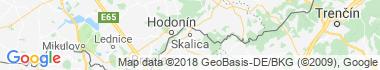 Skalica Mapa