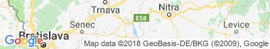 Šoporňa Mapa