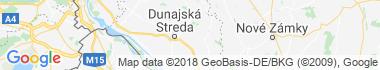 Ohrady Mapa